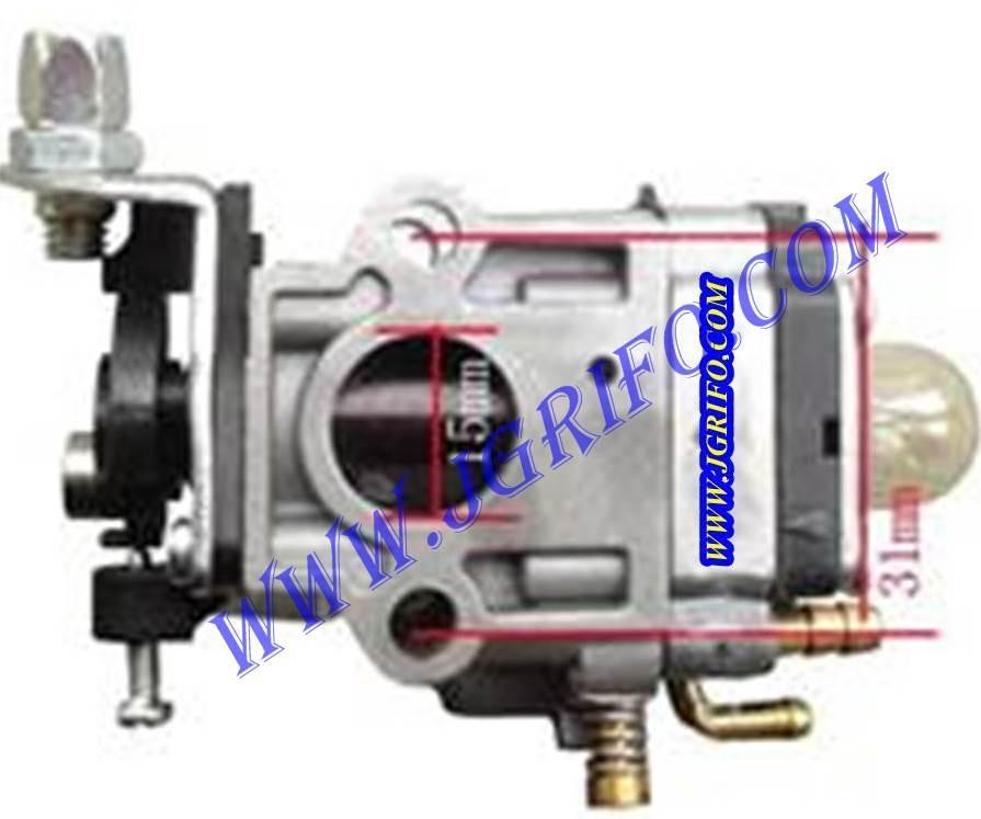 Carburador desbrozadora ggt430 recambios maquinas de - Maquinas de jardin ...