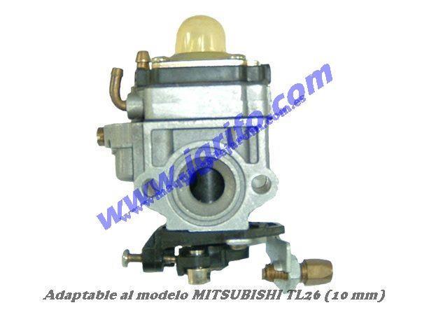 Carburador adaptable al modelo mitsubishi tl26 10 mm - Maquinas de jardin ...